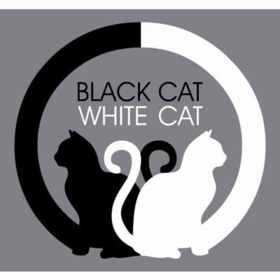 BLACK CAT WHITE CAT CAFE