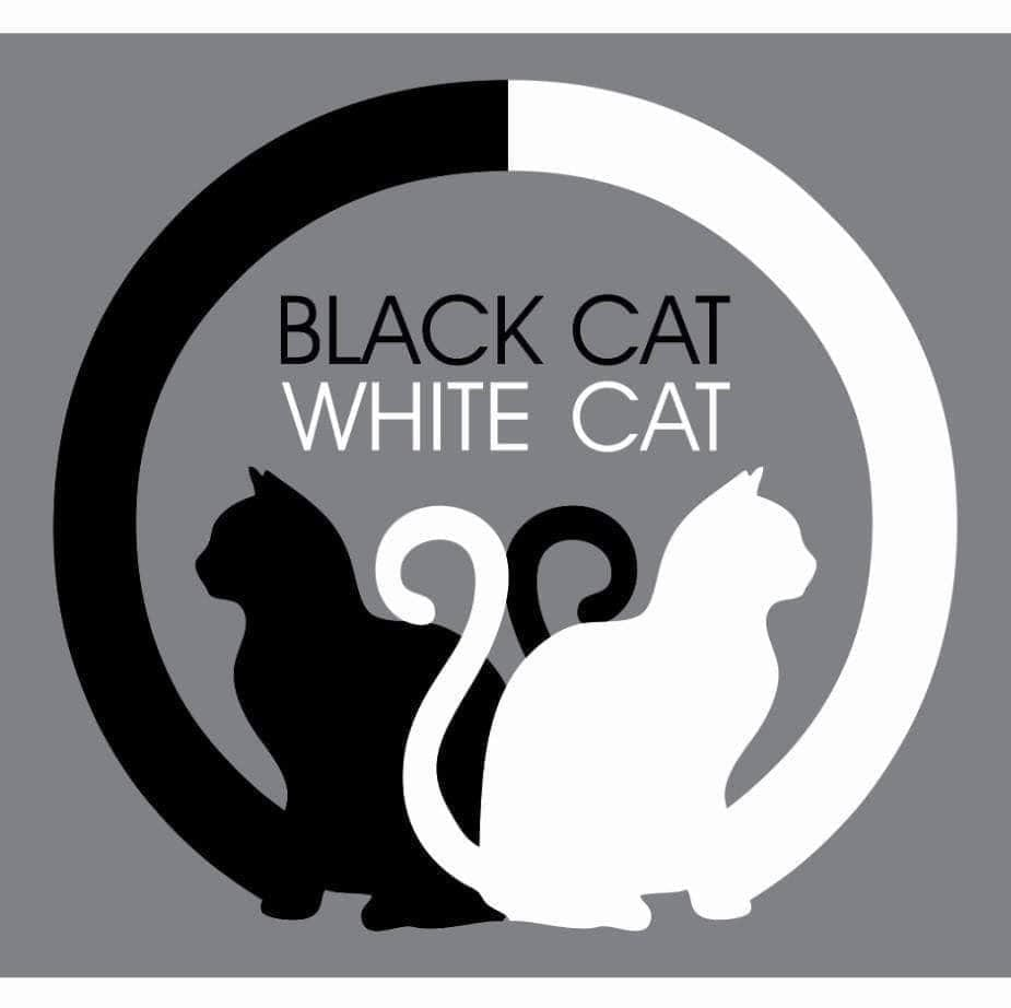 BLACK CAT WHITE CAT CAFE